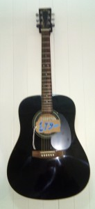 SX Ozark Guitar Black